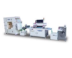 全自动丝印机-配LED UV机