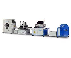 全自动丝印机-配隧道式UV机